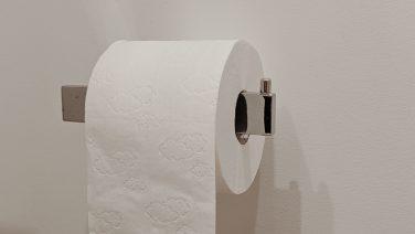 Hoe moet je een wc-rol ophangen: naar voren of achteren?