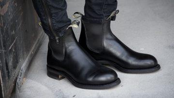 Men Black Nubikk Chelsea boots LOGAN CHELSEA from category