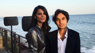 Dit is de vrouw van Kunal Nayyar (Raj Koothrappali in The Big Bang Theory)