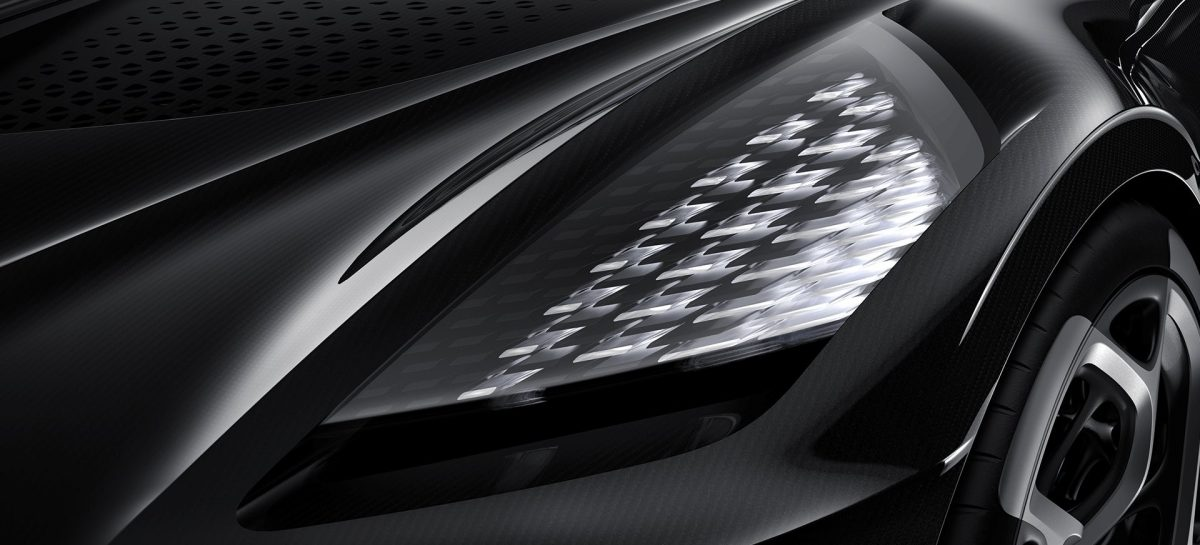La Voiture Noire van Bugatti is de duurste auto ter wereld