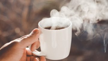 Op dit moment van de dag heeft koffie drinken geen nut