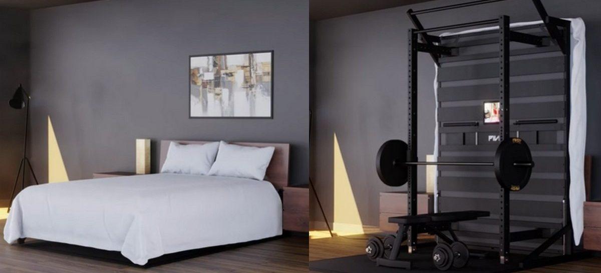 Bedrijf komt met geniaal 2-in-1 bed en gym om thuis te sporten
