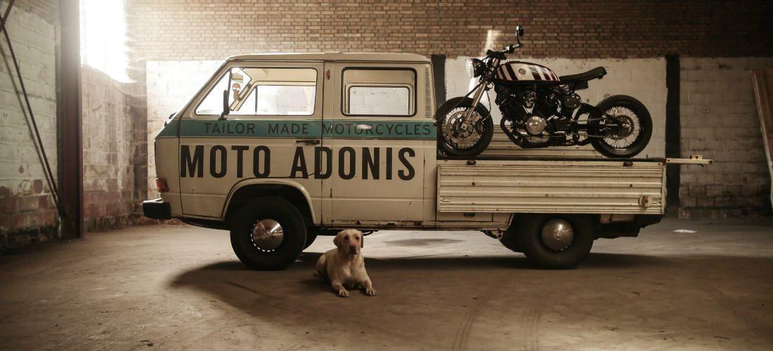 Custom Bikes van eigen bodem: Moto Adonis