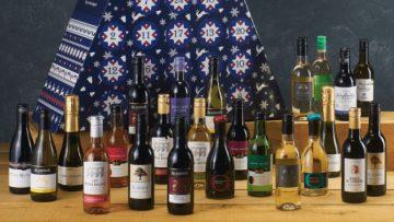 De wijn-adventskalender is vanaf nu weer te koop bij de Aldi
