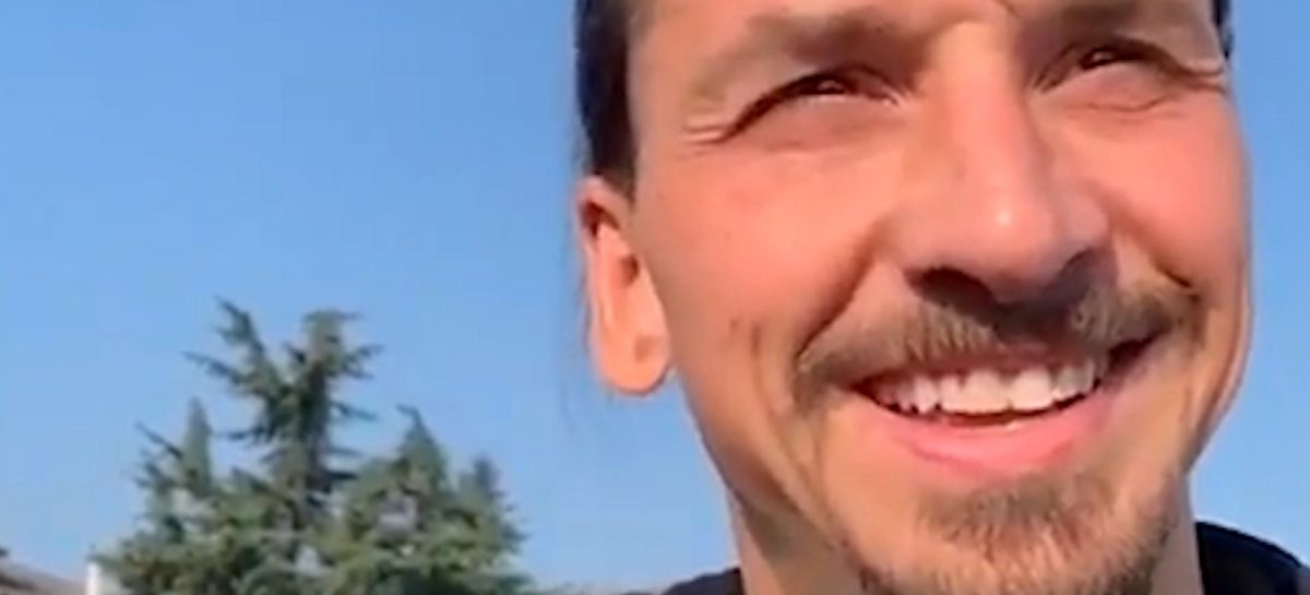 Zlatan Ibrahimovic verrast aantal teamgenoten met een PS5