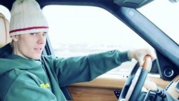 Justin Bieber rijdt in de meest opvallende Rolls-Royce ter wereld
