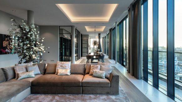 Een exclusief kijkje in het €11 miljoen kostende penthouse op de Dam