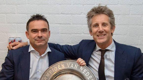 De salarissen van Marc Overmars en Edwin van der Sar bij Ajax