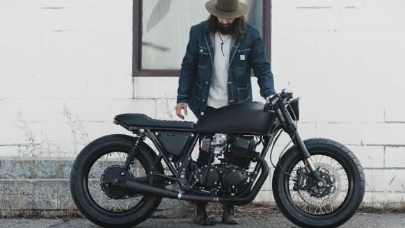 De 4 brute bikes van Clockwork Motorcycles