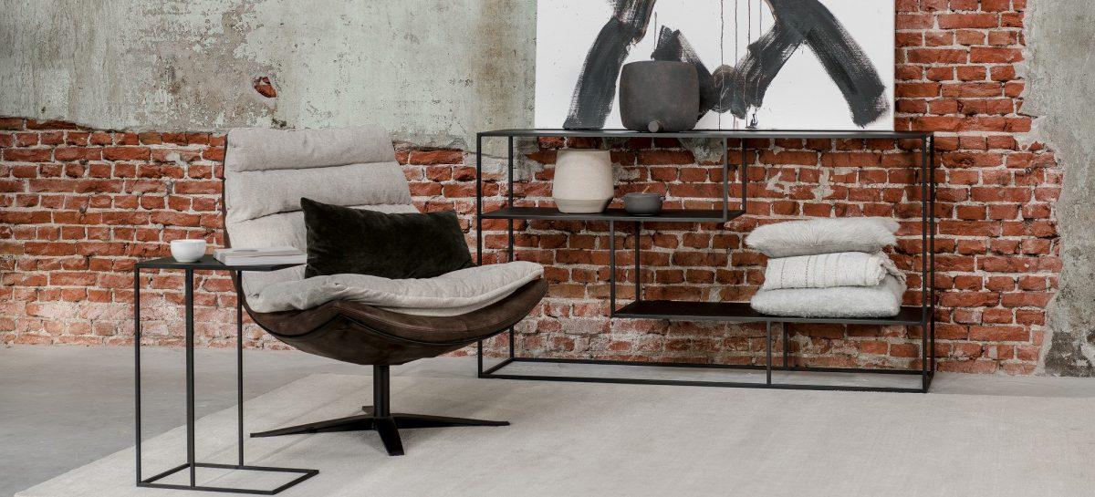 4 stoere meubels voor een industrieel interieur