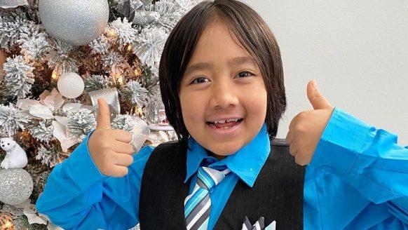 De 9-jarige Ryan Kaji is de best betaalde YouTuber van dit moment