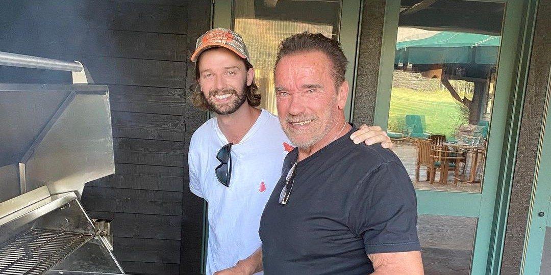 Dit zijn de drie zonen van Arnold Schwarzenegger