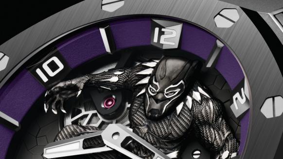 Audemars Piguet lanceert een exclusief Black Panther Royal Oak-horloge