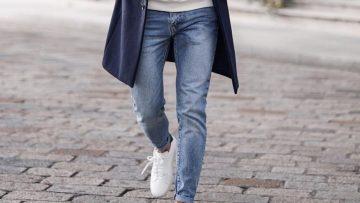 Welke pasvorm jeans is goed voor mannen met dunne benen?