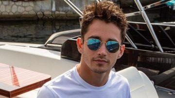 F1-coureur Charles Leclerc krijgt een héél vette supercar van de zaak