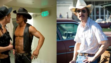 Extreme before & after: Matthew McConaughey viel bizar veel af voor filmrol