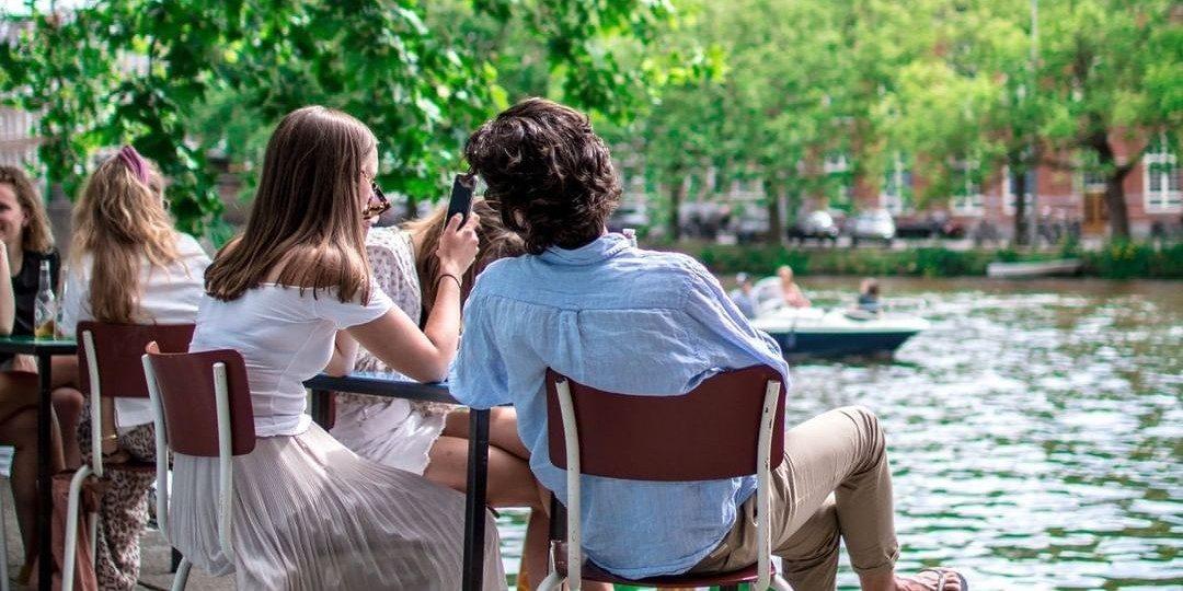 10 terrassen in Amsterdam met veel zon