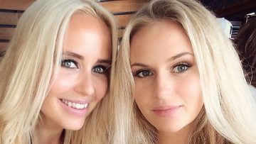 Deze Zweedse blondines zijn moeder en dochter én fitgirls van de bovenste plank