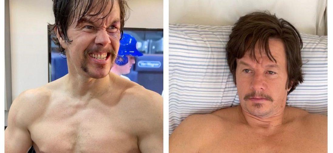 Before & after: Mark Wahlberg komt 13 kg aan in 3 weken