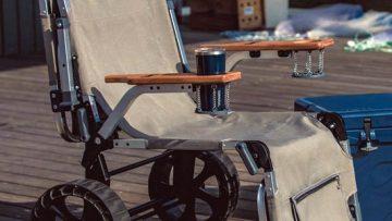 Met deze stoel wordt elk festival ultiem relaxen