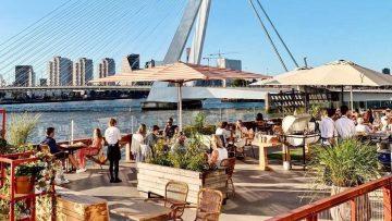 10 leuke terrassen in Rotterdam