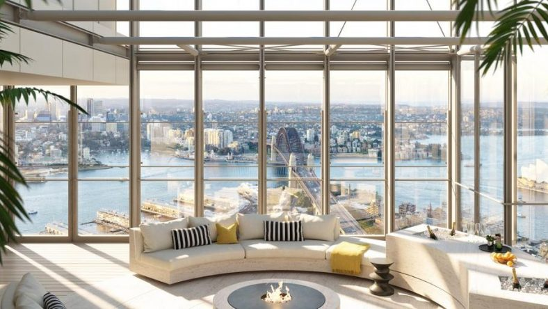 Binnenkijken in het duurste penthouse van Australië (118 miljoen euro)
