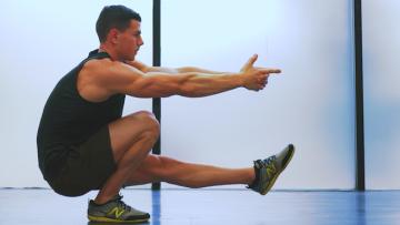 Pistol Squat: oefening, uitvoering en spiergroepen