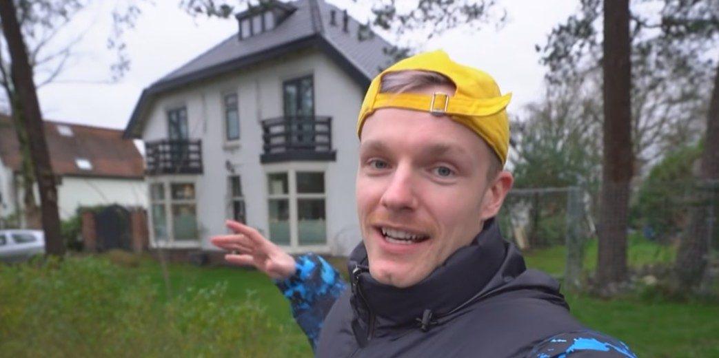 Binnenkijken in het landhuis van YouTuber Enzo Knol