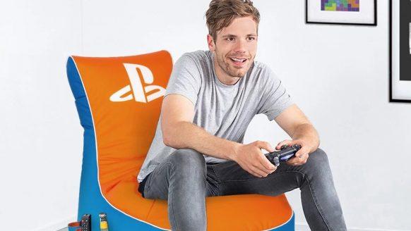 De Lidl verkoopt nu een speciale PlayStation gaming-zitzak