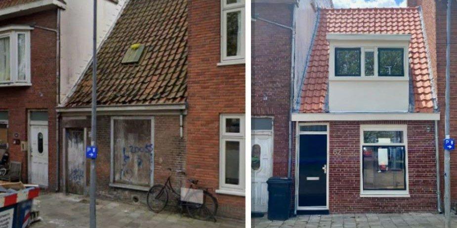 Haarlems krot omgebouwd tot prima woning en prijs gaat 4 keer over de kop