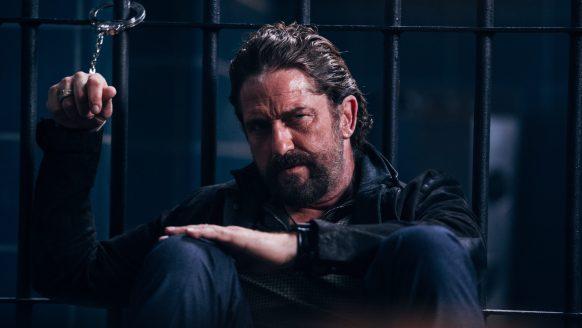 Gerard Butler speelt de hoofdrol in humoristische actiethriller 'Copshop'
