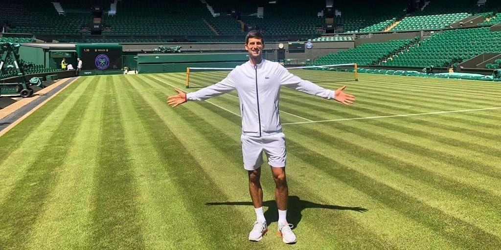 Het vermogen van tennisser Novak Djokovic