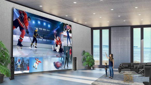 LG onthult gloednieuwe televisie met een bizar beeldformaat van 325 (!) inch