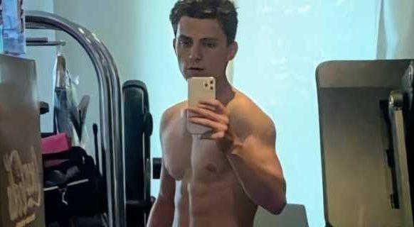 Zo kwam Tom Holland in 6 weken tijd 7 kg spiermassa aan voor zijn rol als Spider-Man