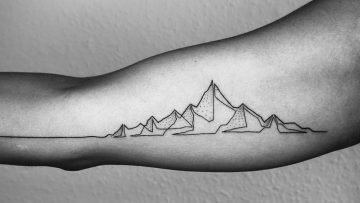 Tattoo inspiratie: minimalistische one-line tattoo's