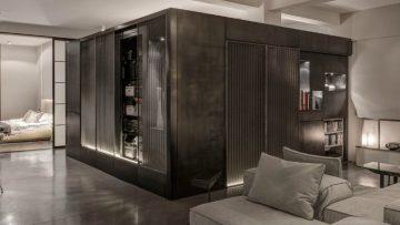 Londons appartement brengt minimalisme en industriële looks samen