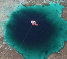 Dit is het diepste onderwatersinkhole van de wereld