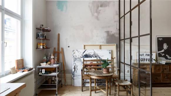 Droomhuis: sfeervol appartement in Stockholm