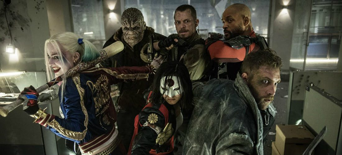 Must watch augustus: Suicide Squad, Ben-Hur, War Dogs