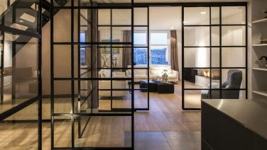 Bruut Amsterdams appartement