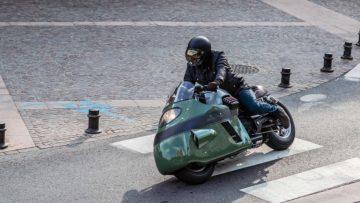 De custom Moto Guzzi Dustbin is niet je standaard motor