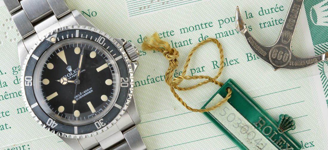 Volg deze tips om een nep horloge te herkennen