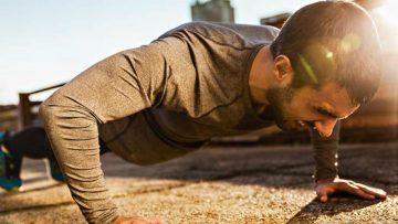 Home workout voor beginners en mannen met overgewicht