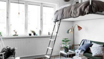 Indeling Kleine Slaapkamer : 9 creatieve ideeën voor een kleine slaapkamer