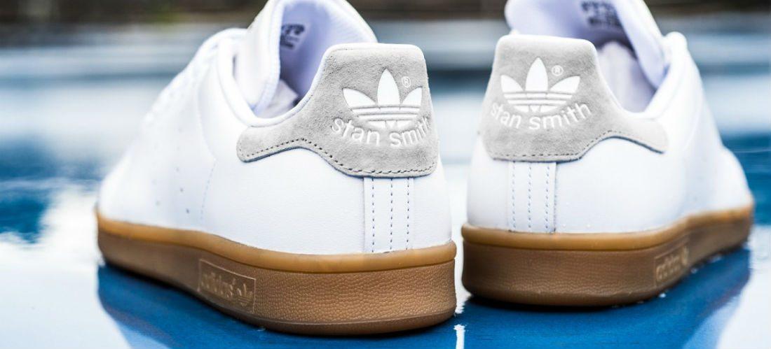 adidas stan smith blauwe achterkant