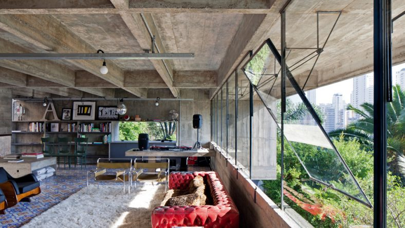 Het bijzondere huis van archtitect Paulo Mendes Da Rocha