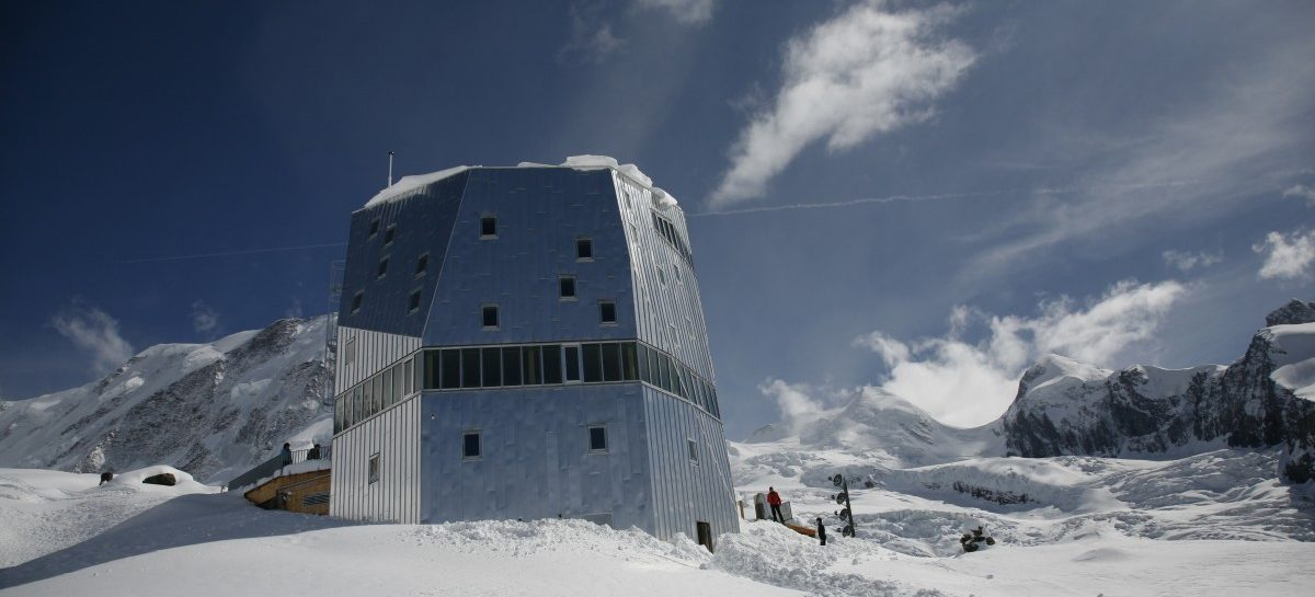 Monte Rosa Hütte: een wintersportdroom