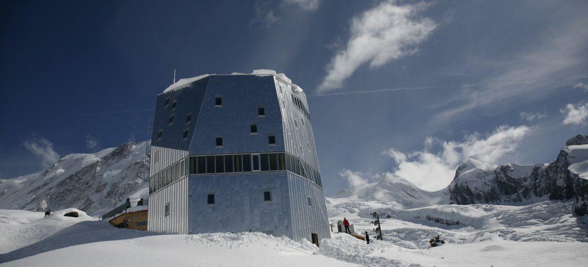 Monte Rosa Hütte: een wintersportdroom
