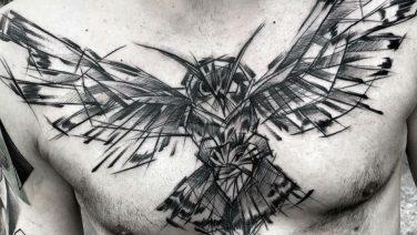 Tattoo inspiratie: experimentele schets tattoo's