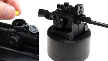 Houd je collega's op afstand met deze bestuurbare BB gun mini sniper